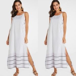 Anthropologie Holiday Trading & Co Maxi Dress
